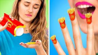 11 странных лайфхаков для ногтей в колледже