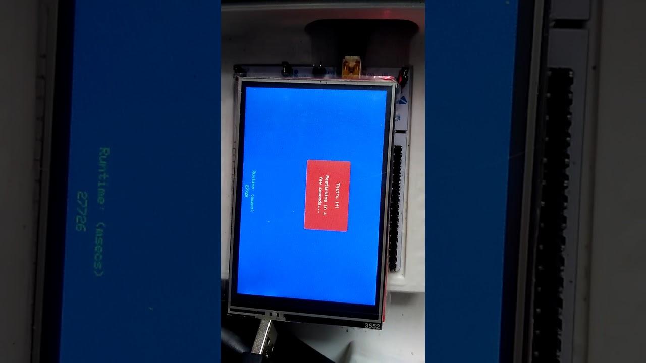 Ili9488 3 5(3) stm32F103rb - смотреть онлайн на Hah Life
