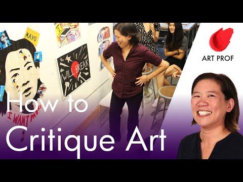 How To Critique Art: RISD Art Professor & Art Students Explain