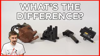homepage tile video photo for Distributor, Wasted Spark, Coil on Plug, MONSTER Coil Near Plug | WHATS THE DIFFERENCE?