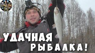 Рыбалка на ХАРИУСА Рыбачим на таёжной реке в Республике Коми Март 2020 г