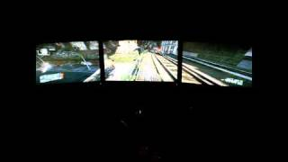 Crysis 2 Gameplay Campaign - Tri-Screen Extreme Settings