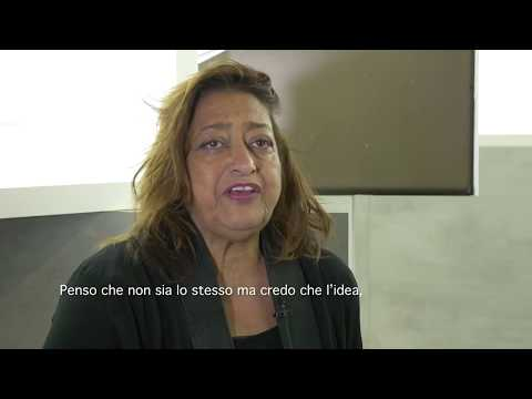 Olivari Interview with Zaha Hadid