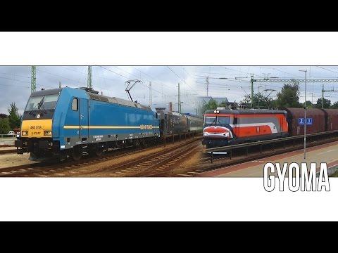 Augusztusi vonatok Gyoma