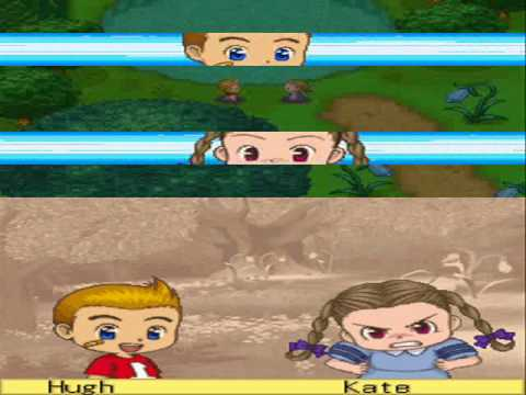Harvest Moon DS Cute - Kate/Hugh 1st Event - YouTube