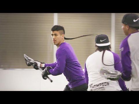 Thompson Brothers Test Alternative Lacrosse Pockets | INTERLOCK Presented By NIKE Lacrosse