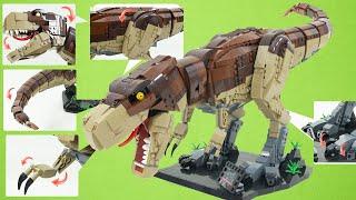 다이노월드에 레고티라노사우르스가 나타났다 함께 공룡레고 만들어보아요