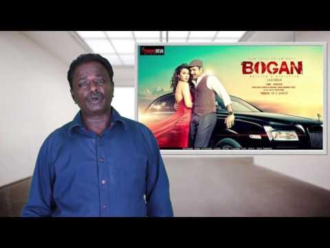 Bogan Movie Review - Jayam Ravi, Arvind Swami - Tamil Talkies