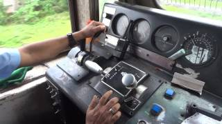 [IRFCA] Loco Pilot applies Brake, Dynamic Braking full process in WDP4 Engine thumbnail