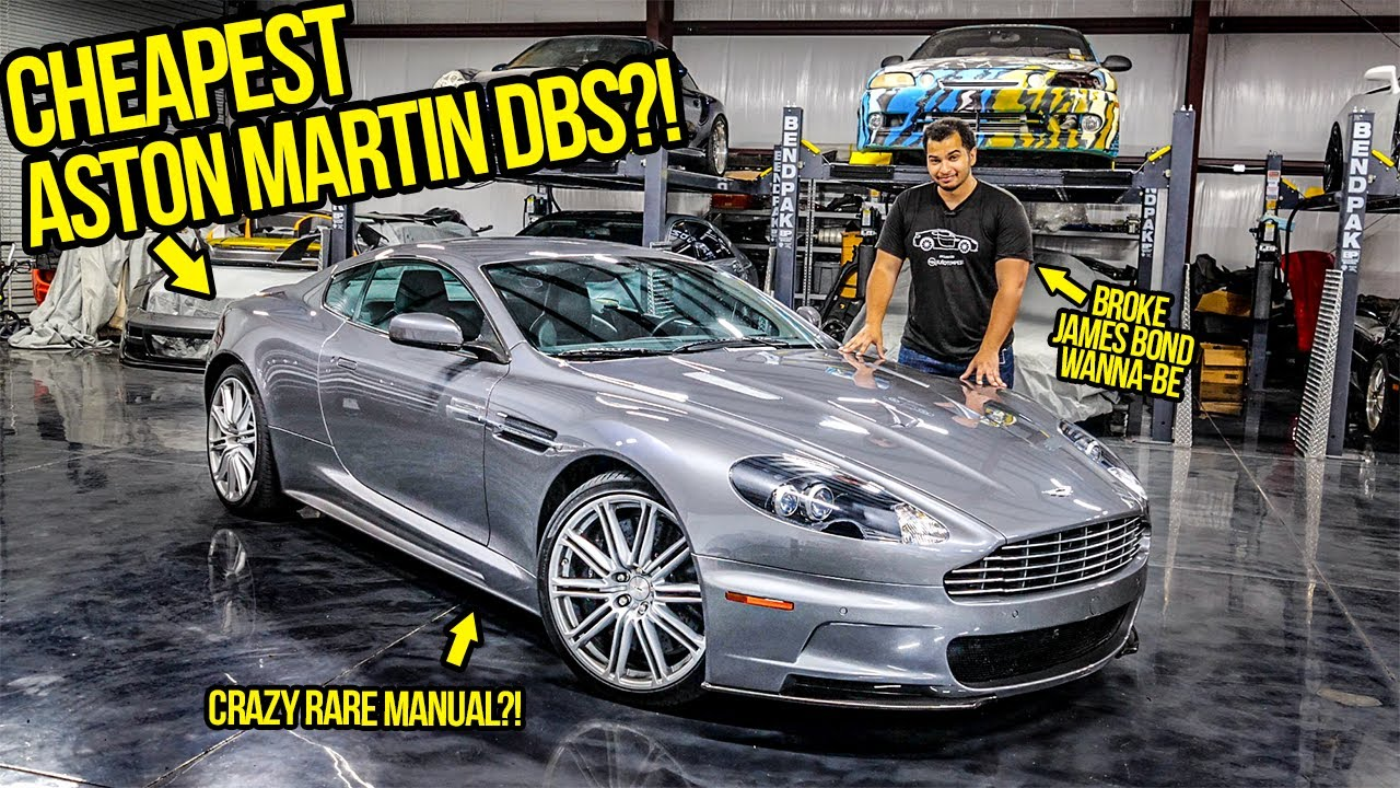 I Just Bought The Cheapest Manual Aston Martin Dbs In The World Youtube