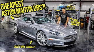 I Just Bought The Cheapest Manual Aston Martin DBS IN THE WORLD