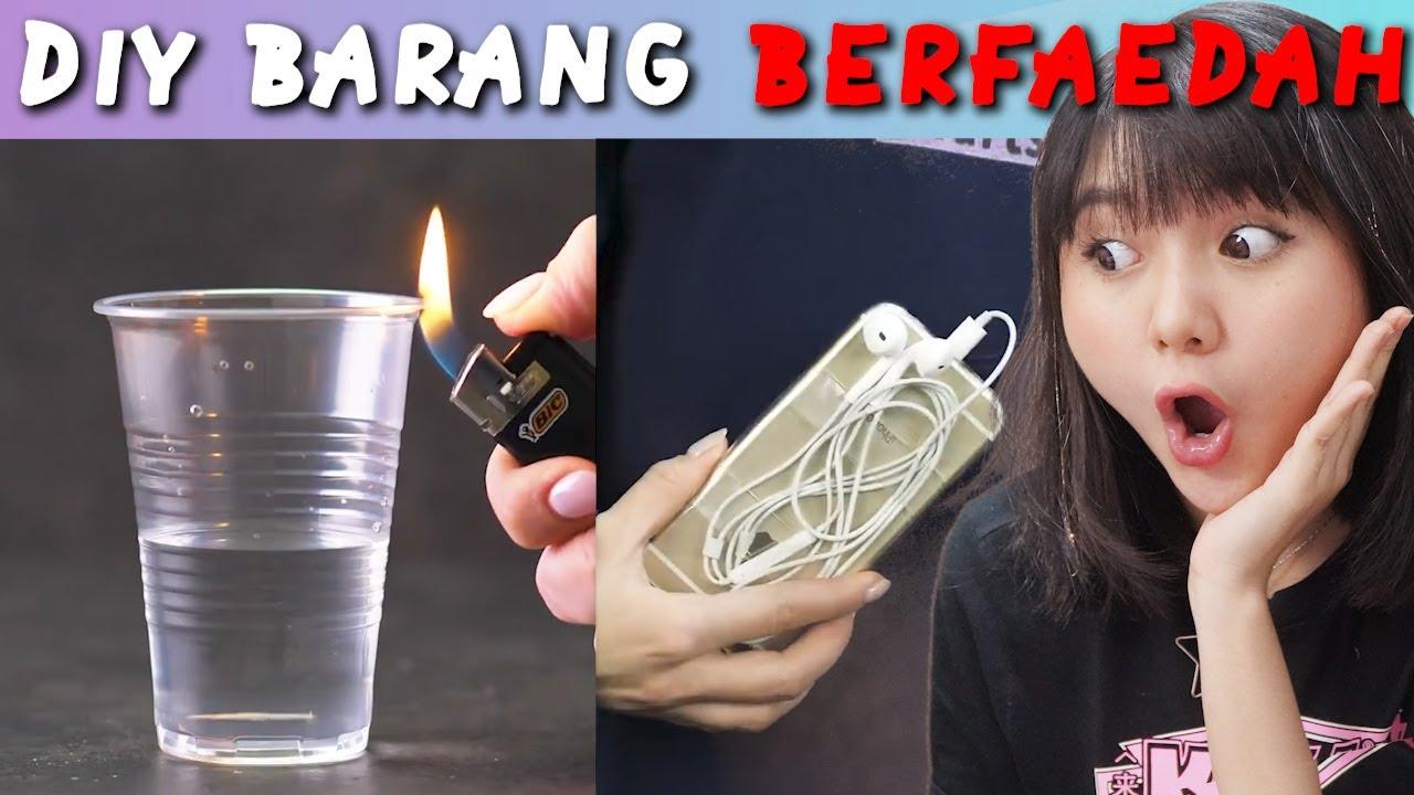 DIY BARANG-BARANG BERFAEDAH!! KALIAN WAJIB PUNYA!!