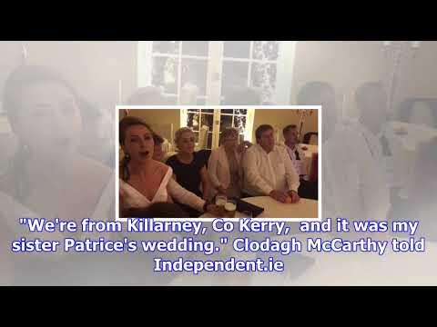 Watch: no irish wedding is complete...