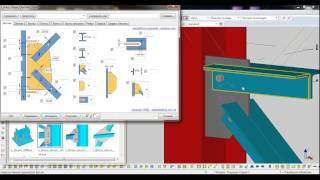 Tekla Structures - Параметрические узлы (плагины)