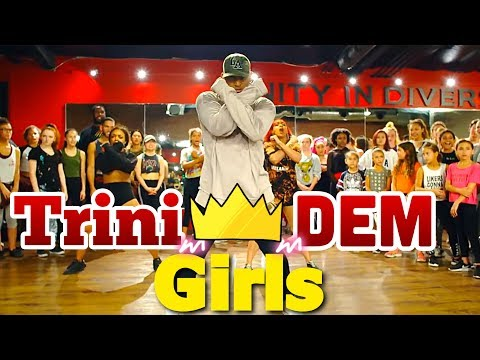 Nicki Minaj - Trini Dem Girls - Choreography by - Brooklyn Jai