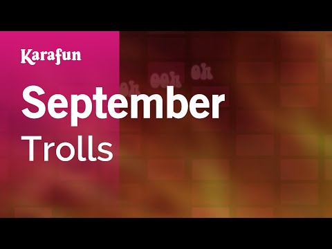 Karaoke September - Trolls *