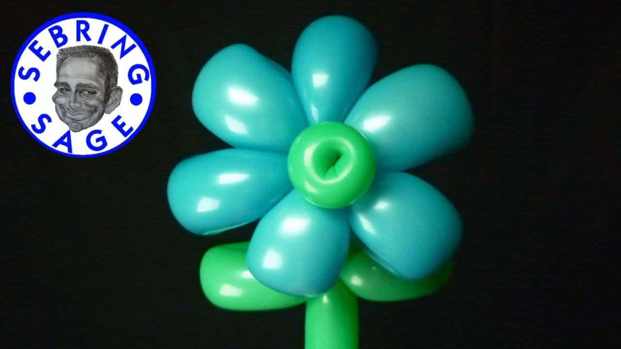 Balloon 6 Petal Flower Youtube
