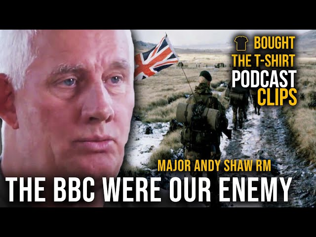 BBC Colluded With Our Enemy | Major Andy Shaw Royal Marines | Podcast CLIPS