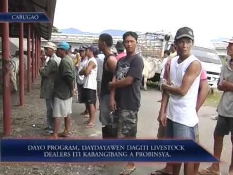 Dayo Program, Daydayawen Dagiti Livestock Dealers Iti Kabangibang a Probinsya
