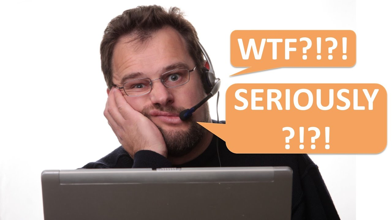 WTF Answers that makes me CRINGE...from Tales from Tech Support