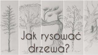 Jak Narysować Drzewo krok po kroku? Łatwe. How to Draw a Tree?
