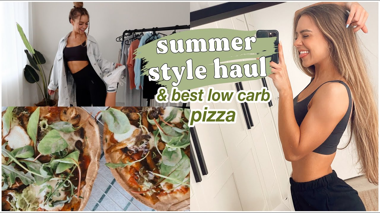 summer style haul *try-on* & low carb pizza   WEEK VLOG 4
