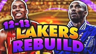best pf c duo ever rebuilding the 12 13 lakers nba 2k17 my league