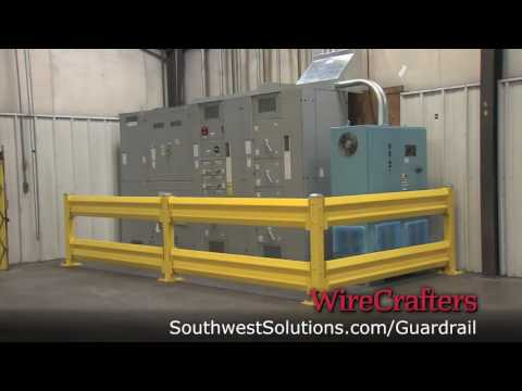 industrial-guardrails-to-protect-machinery-&-employees-from-forklift-accidents