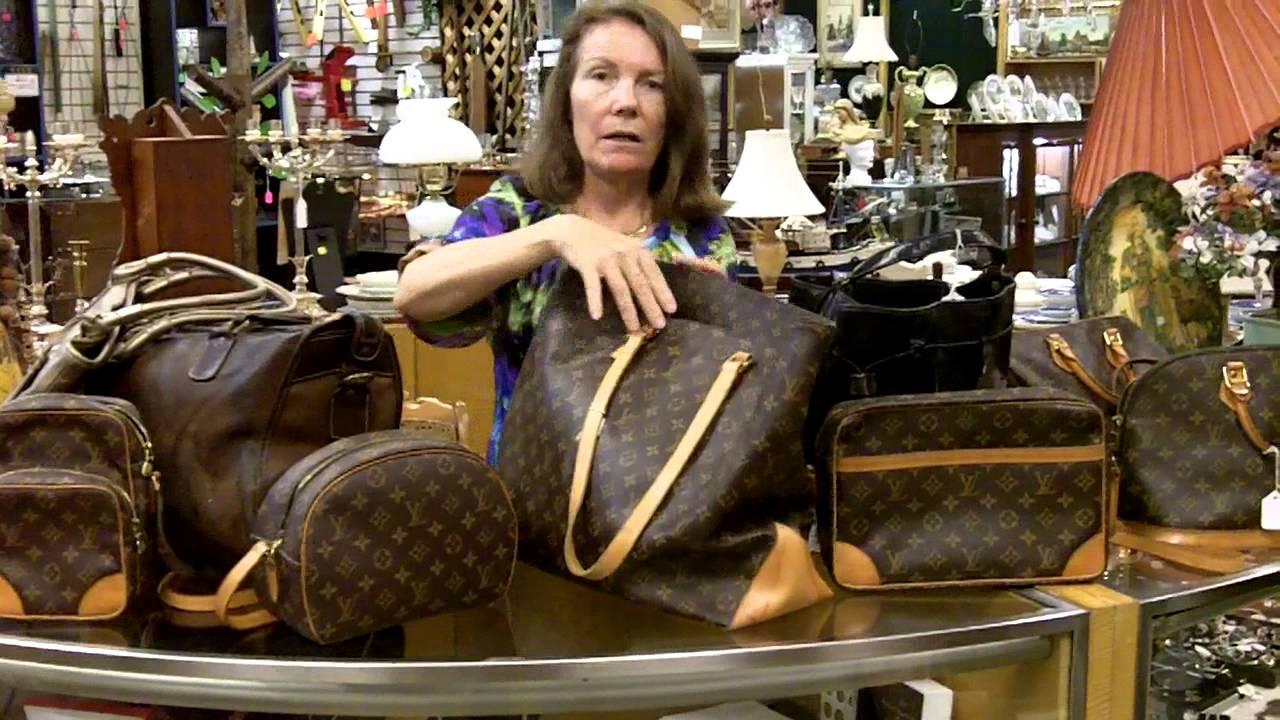 Vintage Louis Vuitton Bags Authentic Collectible Designer You