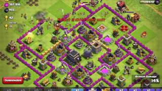 Clash of clans: train all valkyrie just with 1 gem