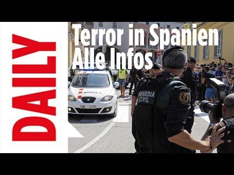 Terror in Spanien - Alle Infos jetzt in BILD Daily live 18.08.2017