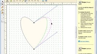 Shaping Applique Curves in PatchDraw