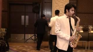 kya janu sajan , jaag dil deewaana , woh hain zara on alto saxophone by abhay sharma