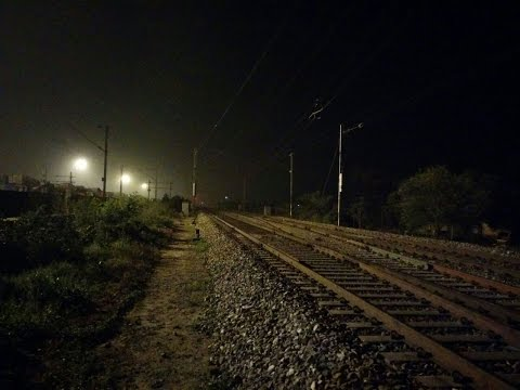 Night Out on Delhi-Ludhiana Route.. Non Stop Fast Electric and Diesel Trains of Indian Railways.!!