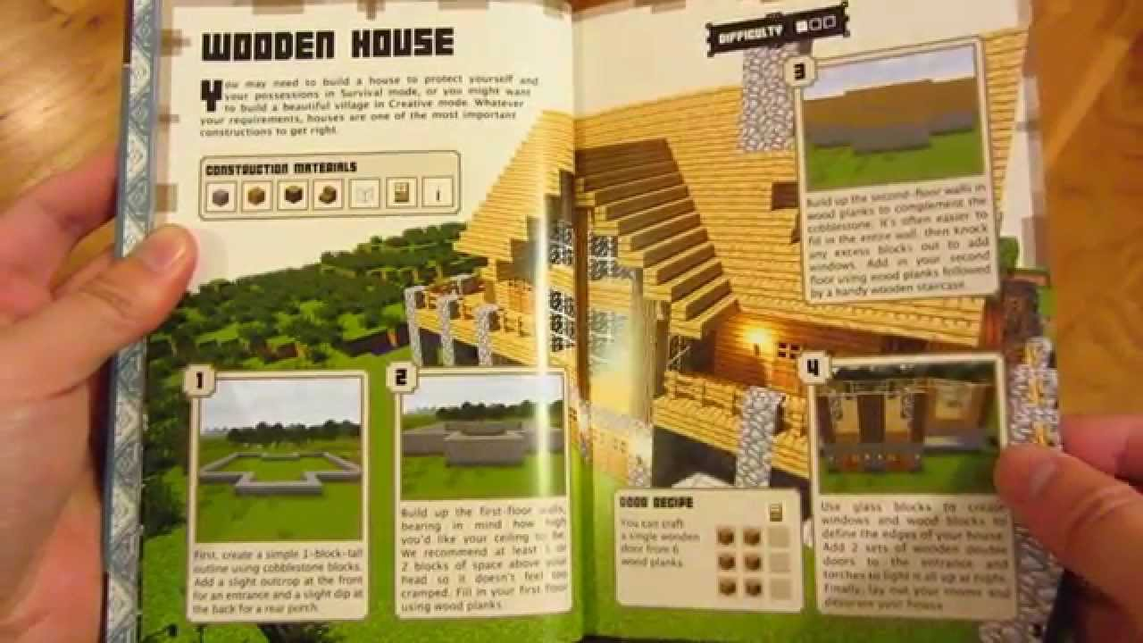 Minecraft Construction Book - Page by Page Every Page