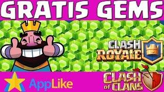 VIA APPLIKE - Gratis Gems für Clash of Clans und Clash Royale