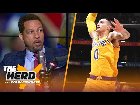 Chris Broussard on if Kyle Kuzma is Lakers' 2nd star, talk Luke Walton's job status | NBA | THE HERD