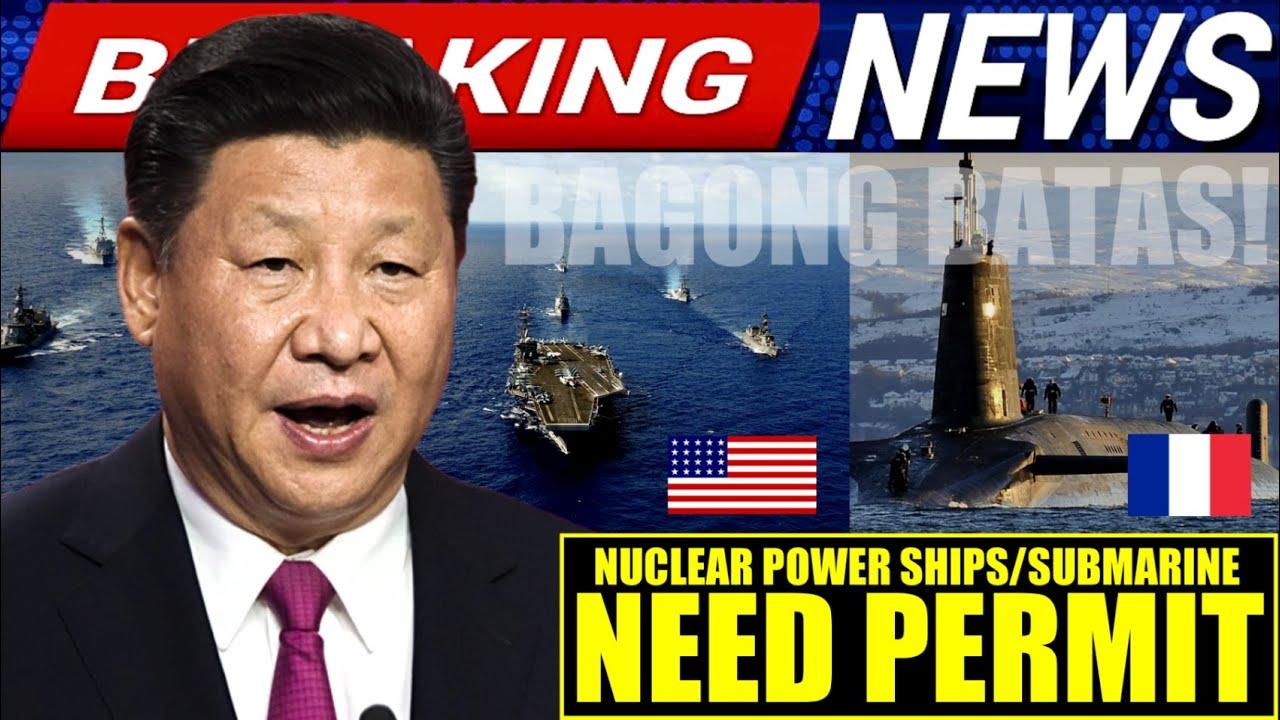 GRABE CHINA HAHARANGIN ANG WARSHIP AT SUBMARINE SA SOUTH CHINA SEA | AIR FORCE CONDUCT AIR-STRIKE