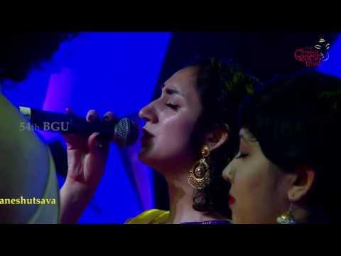 'Sur Niragas Ho' By Berklee Indian ensemble - USA at the 54th Bengaluru Ganesh Utsava