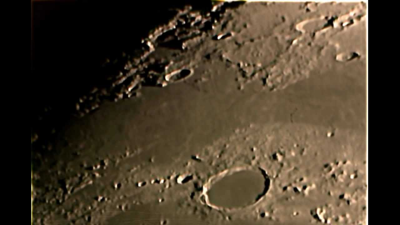 Moon close up with 10 inch telescope stills and video - Moon close up ...
