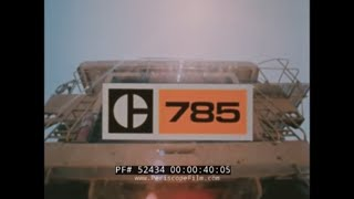 CATERPILLAR  785 OFF HIGHWAY ROCK TRUCK   ARIZONA PROVING GROUNDS  52434