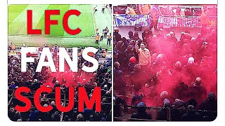 Liverpool Fans your a Disgrace #Liverpoolfc #Liverpool2Chelsea0 #smokebombanfield