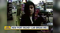 Pasco deputies search for suspect in car break-ins