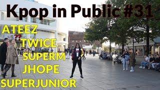 KPOP IN PUBLIC #31 (SuperM, Ateez, Twice, J-HOPE ft. BeckyG, SuperJunior)