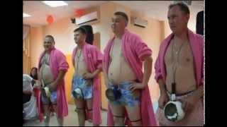 Конкурс на свадьбе-Весёлые барабанщики
