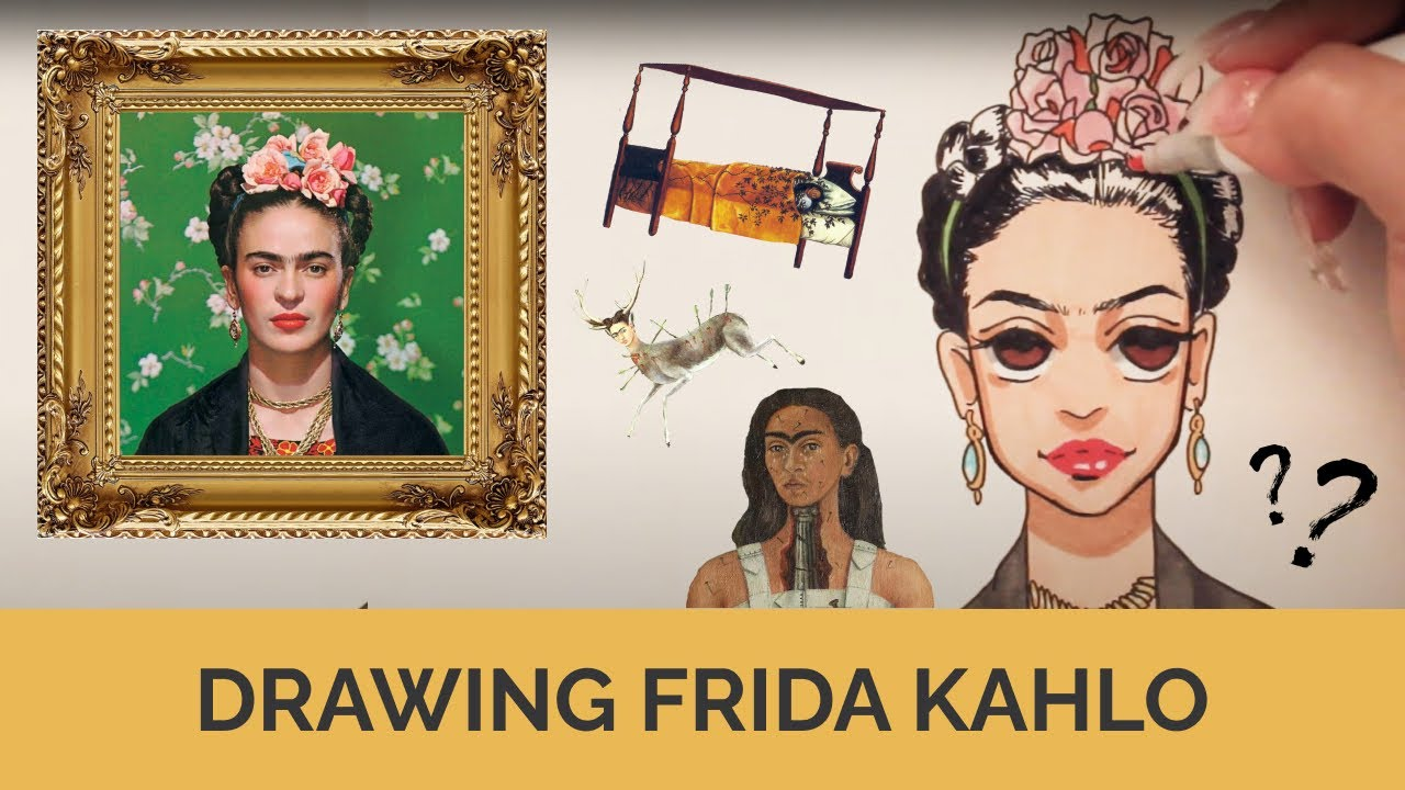FRIDA KAHLO: Draw & Learn Art History with an Anime Twist!