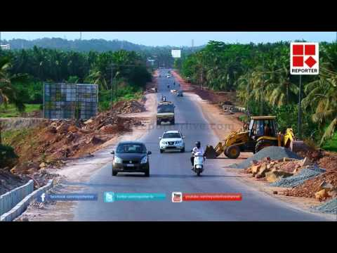 Allegation against KSTP Road construction in Kasargode