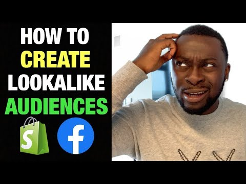 How to create Lookalike Audiences with Facebook Ads for your Shopify Dropshipping Store in 2019! thumbnail