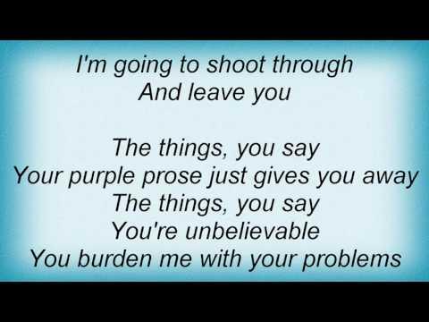 Emf - Unbelievable Lyrics