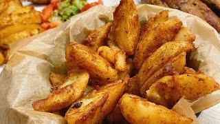 Картофель по деревенски картошка по деревенски